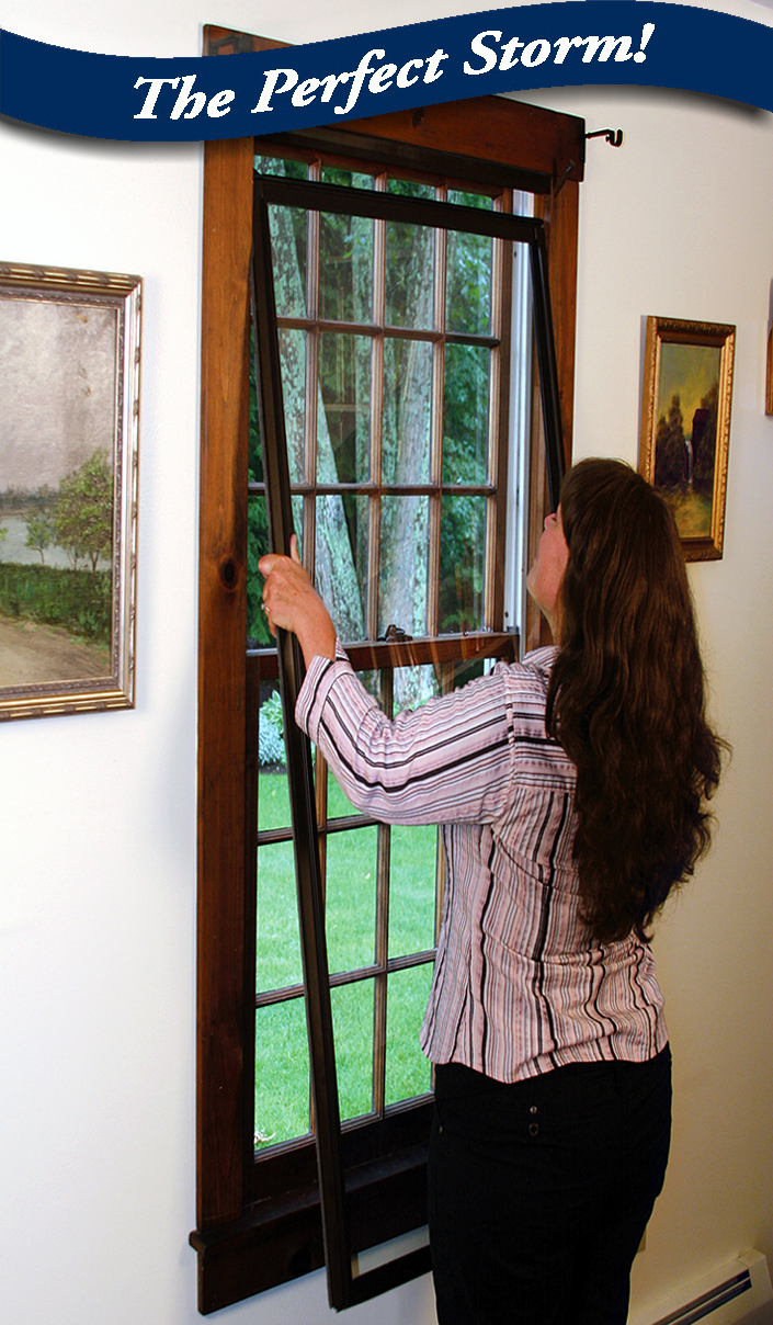 Interior storm window installation guides custom - Interior storm windows for old houses ...